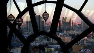 Панорамный ресторан White Rabbit в Москве