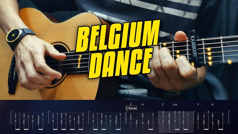 Laïs 't Smidje Fingerstyle Guitar Tabs Belgium Dance