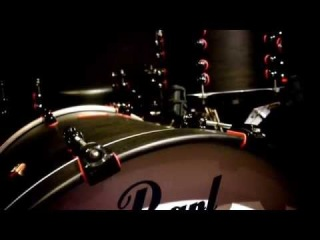 Pearl Masterworks 5pc Matte Black in Rhythm Base
