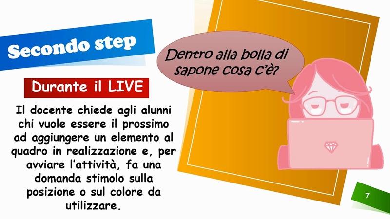 Didattica a distanza Lab 8 Disegnare in live