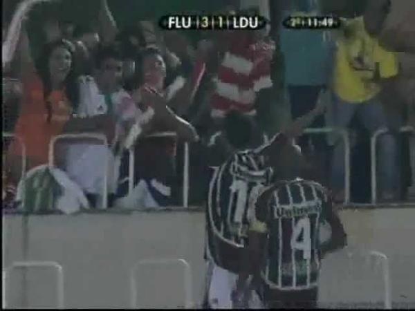 Libertadores 2008 Final 2ºJogo Fluminense 3x1 LDU Gols Rede Globo