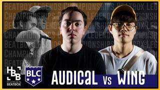 Finals   WinG vs Audical   Beatbox Legends Championships 2018