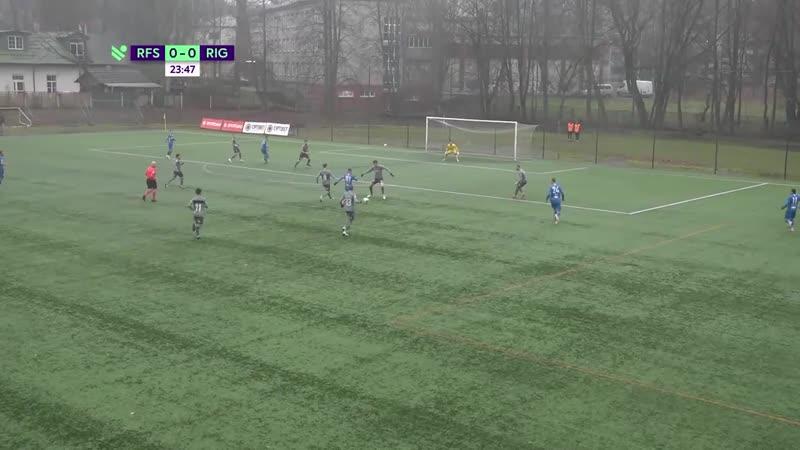 Рижская Футбольная Школа ФК Рига RFS vs Riga FC Labākie momenti Латвия Высшая лига 26 тур