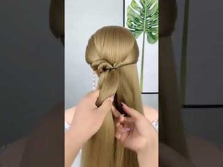 5 cute open hairstyle for girls   party hairstyle   hairstyle for birthday girl   quick hairstyle