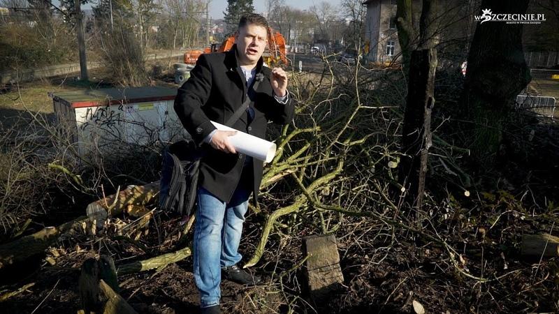 Kamień graniczny znaleziony na budowie Węzła Łękno