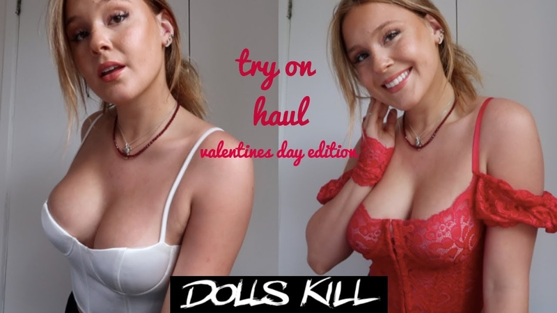 DOLLS KILL TRY ON HAUL VALENTINES DAY EDITION