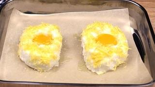 Новый способ приготовить яйца на завтрак  Здоровая еда! | Kitkatalog