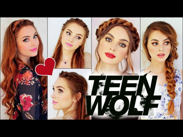 Lydia Martin from mtv TEEN WOLF Braided Hairstyles Holland Roden Tutorial