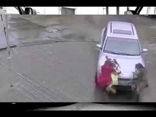 Porsche Cayenne задавил женщину НА СМЕРТЬ ((