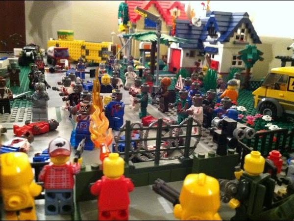 Лего мультик зомби апокалипсис серия 3 Lego cartoon zombie apocalypse episode 3