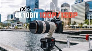 Sony A7SIII A7S3 10Bit 4K 100p/120p Slowmo Video Test (Part 3)