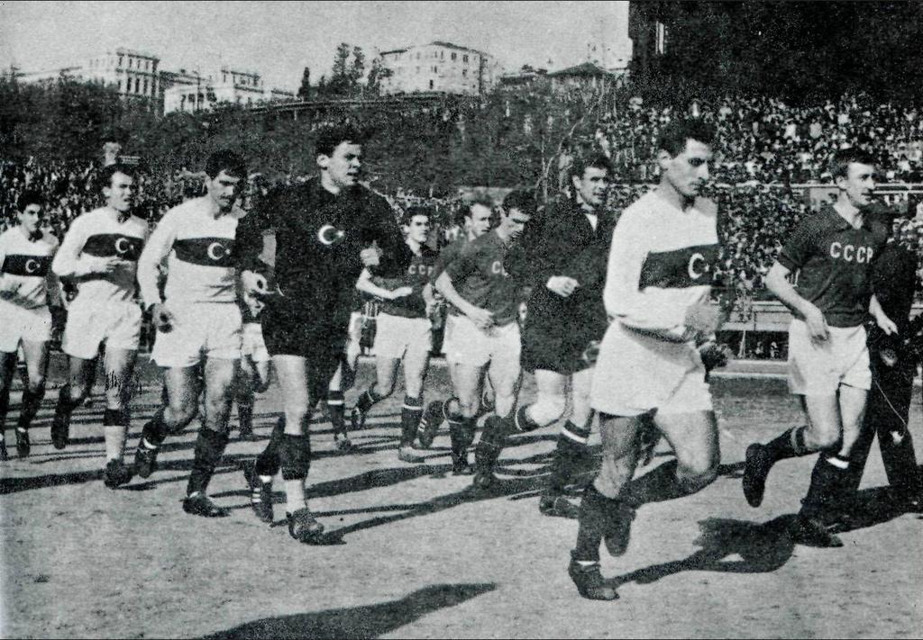 Сборная СССР - Сборная Турции, 1961