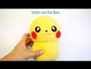 DIY Pikachu Sock Plushie with Free Pattern! Cute Pokemon