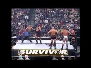 Survivor Series 2003. Team Angle vs Team Lesnar(1080p Full Match HD).