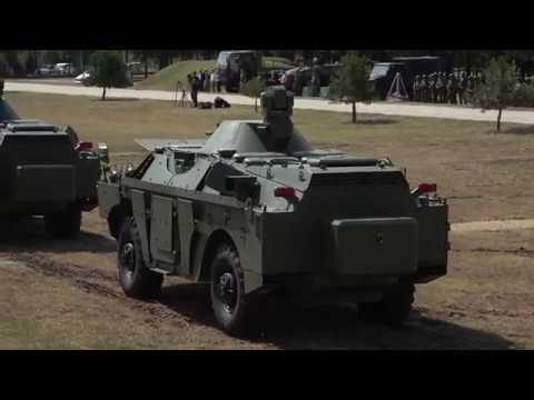 Prikaz oklopno izviđačkih vozila BRDM 2MS