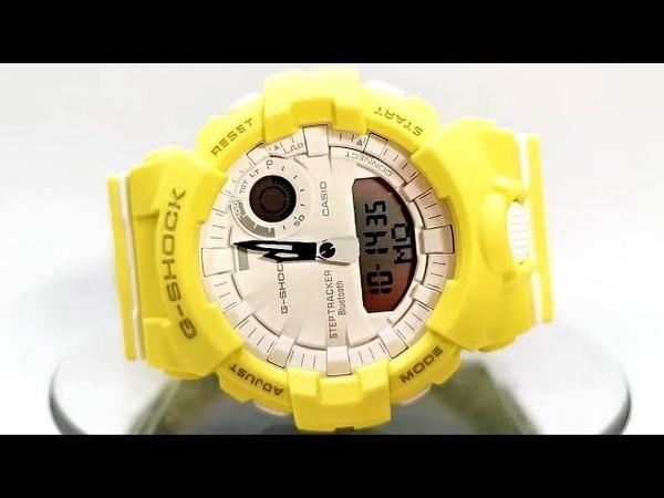 Casio G-SHOCK GMA-B800-9A Module 5555 Bluetooth smart watch 2019