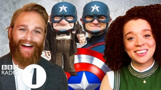 """""""I'm a Marvel punching bag!"""" Wyatt Russell & Erin Kellyman on Falcon And The Winter Soldier (and Up)"""