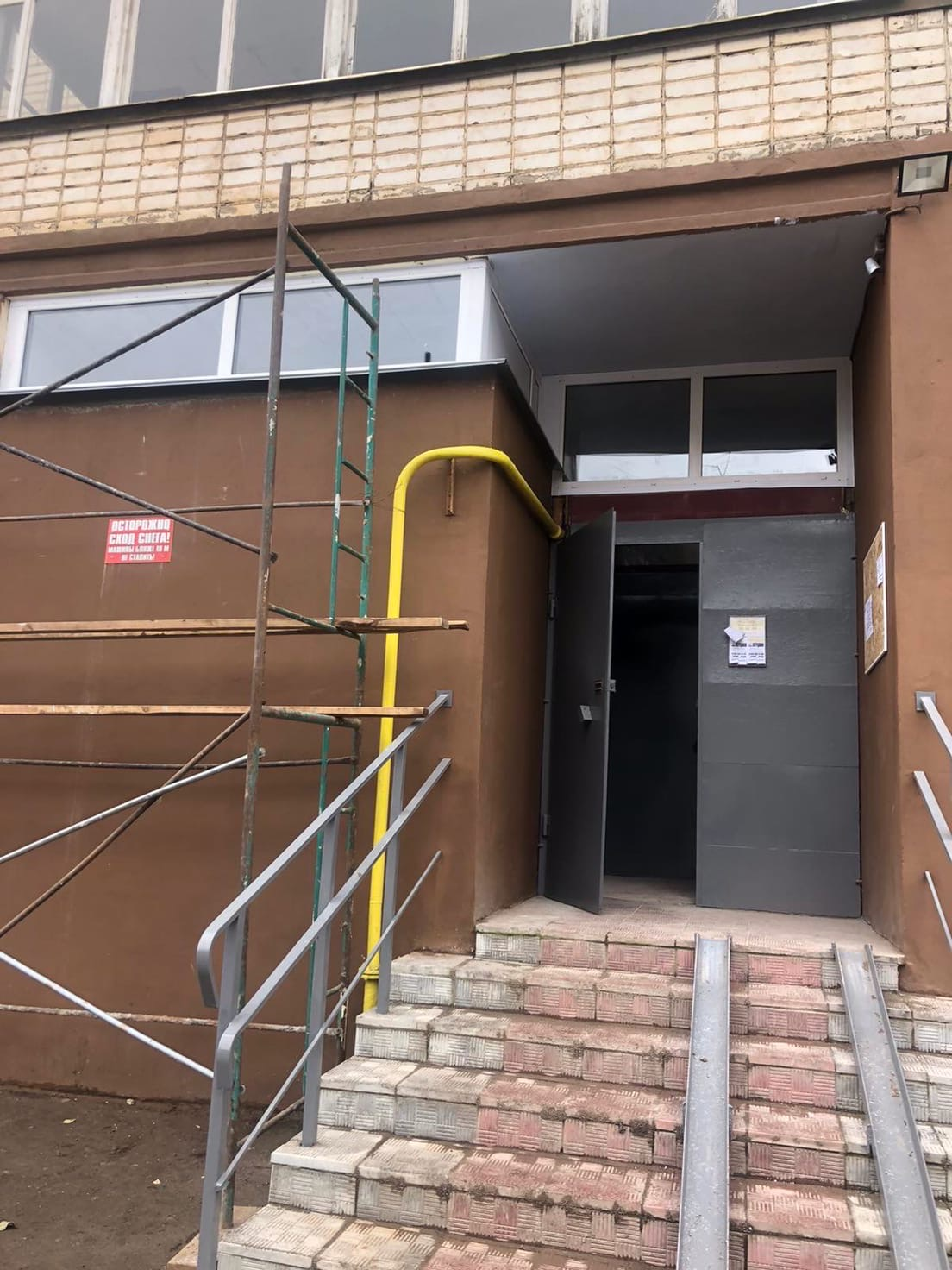 Улица Кольцова дом 22 установка окон у