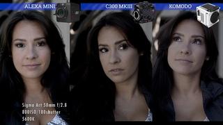 RED Komodo vs ARRI Alexa Mini vs Canon C300 mkiii