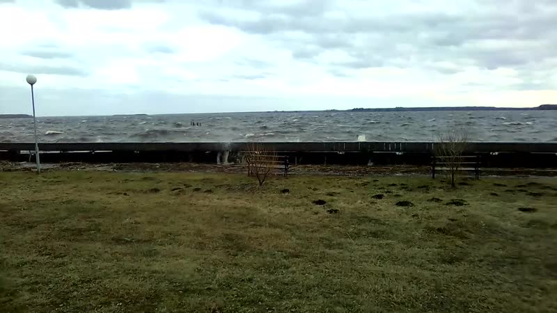 Шторм в Торово