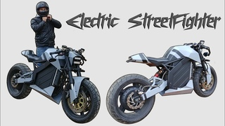 Building An Electric Streetfighter Motorcycle - Complete Build & Test Ride!