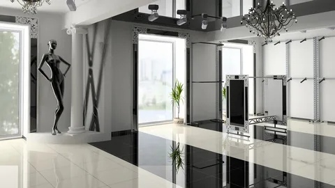 Глянцевые и зеркальные поверхности в интерьере