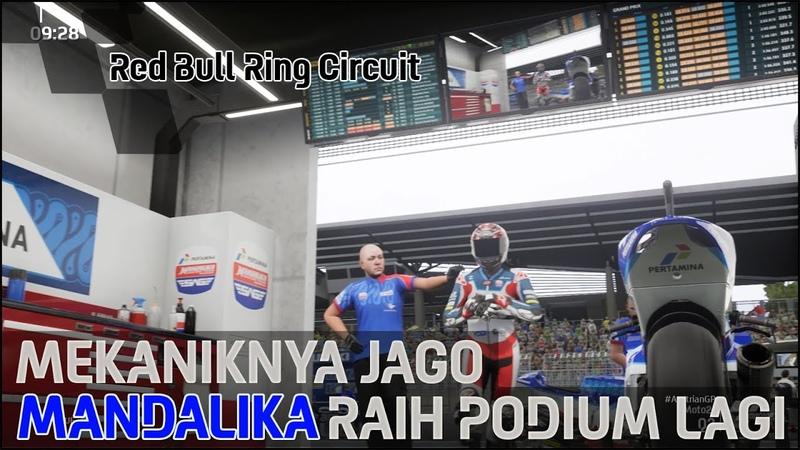 27 Mekaniknya Jago Mandalika Raih Podium Lagi Red Bull Ring Austria Motogp21 PC 1080p60FPS