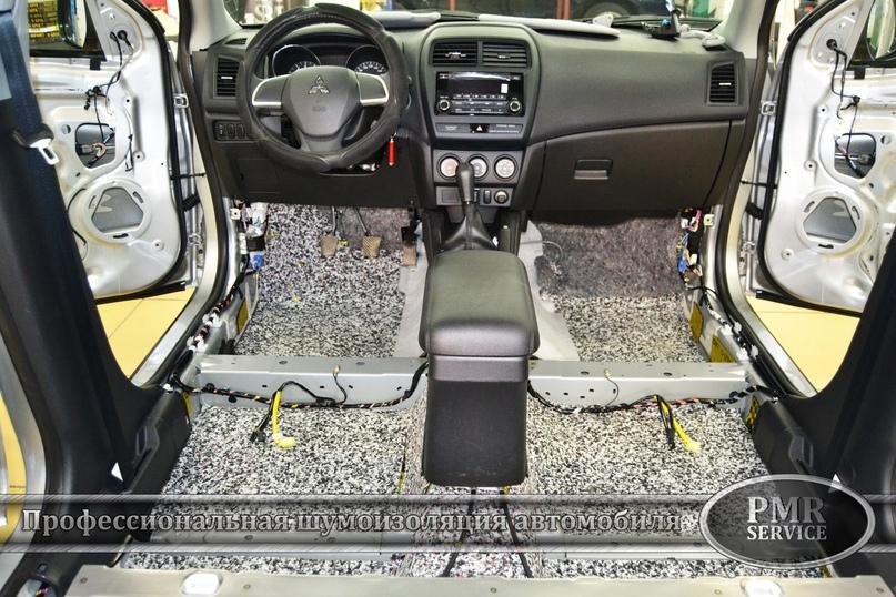 Комплексная шумоизоляция Mitsubishi ASX, изображение №3