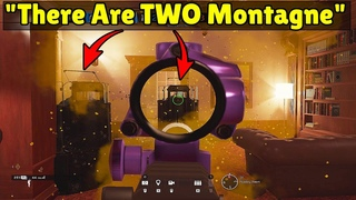 When TWO Montagne Push The Objective At MATCH POINT! - Rainbow Six Siege