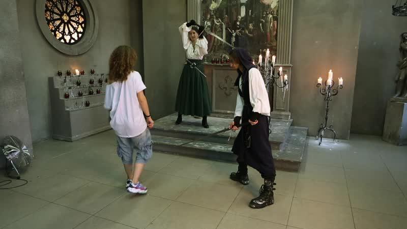 Бэкстейдж фотосессии Средневековье