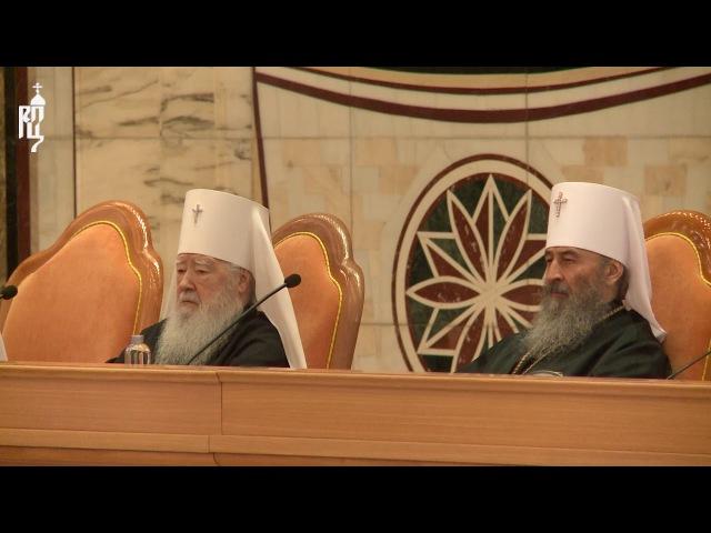 Патриарх Кирилл огласил информацию о своём служении в межсоборный период