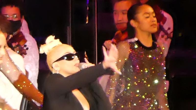 Christina Aguilera Dirrty Hollywood Bowl Los Angeles CA 7 16 21