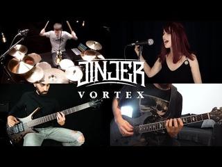 JINJER - Vortex (Full band cover by Morphide, Dmitry Kim, Luca Toberer, The Pirate Bass)