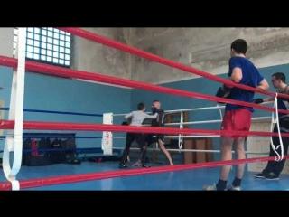 Отработка ПРАВИЛЬНОЙ защиты в боксе