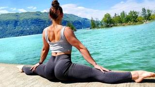 Crazy Strength Stretching Flexibility Girl Female Splits