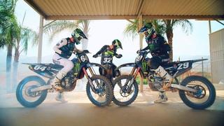 The Title: Star Racing Yamaha - Monster Energy