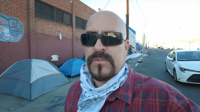 SKID ROW LOS ANGELES HELL ON EARTH CALIFORNIA POVERTY U S ECONOMY GETTING WORSE BY THE DAY