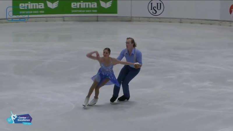 Sasha FEAR George WADDELL RD Nebelhorn Trophy 2020