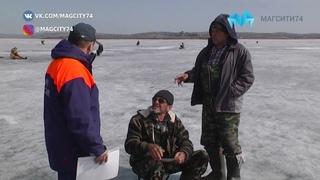 Тает лёд  Рыбакам напомнили об опасности пребывания на водоёмах