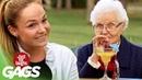 Elderly Flirting Gets Incredibly Awkward