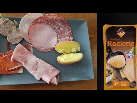 Франция Настоящий РАКЛЕТ традиционная французская кухня