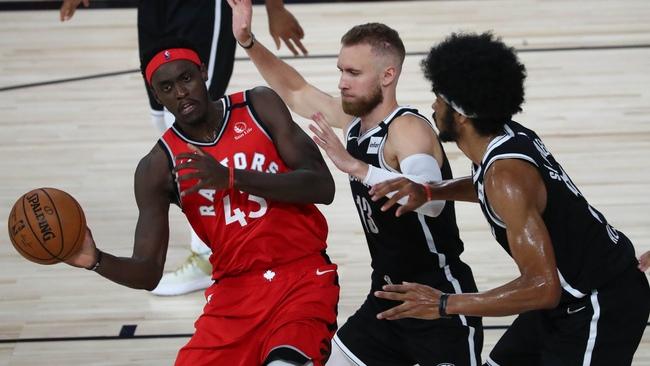 Плейофф Бруклин Нетс — Торонто Рэпторс ( 4 игра ) 24.08.2020 (V спорт)