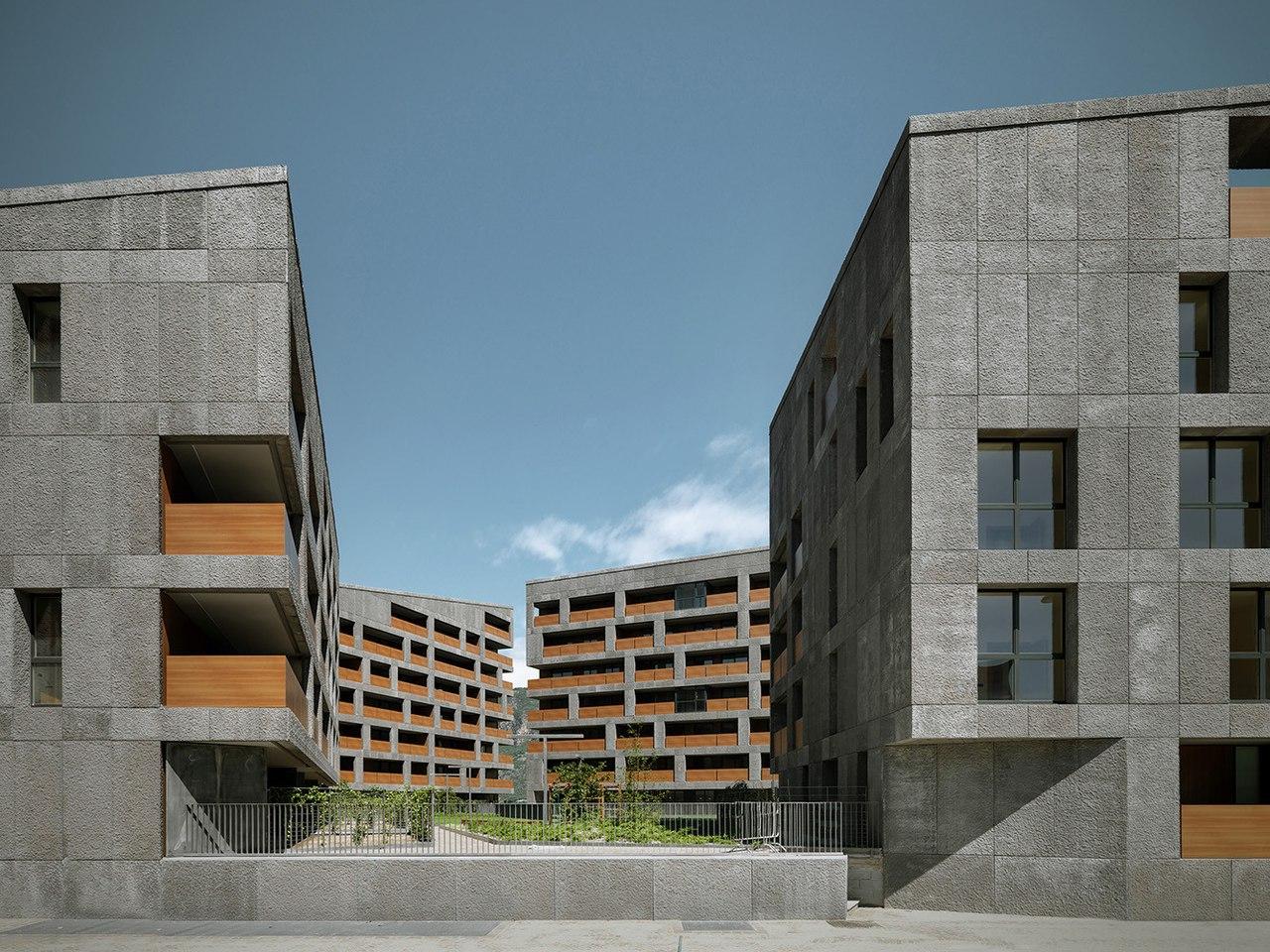 """CasaNova"" Social Housing / cdm architetti associati"
