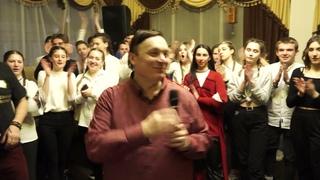 Андрей Разин и Андрей Гуров. Финал концерта на фестивале  Дети Посланники Мира.