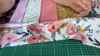 Лоскутный эфир 374б . Печворк. Набор тканей на детское Лоскутное одеяло.