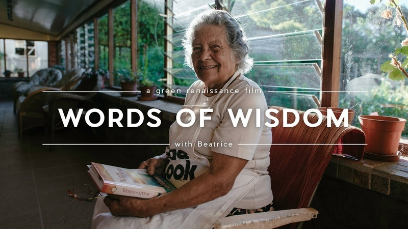 Grandmother's Words Of Wisdom