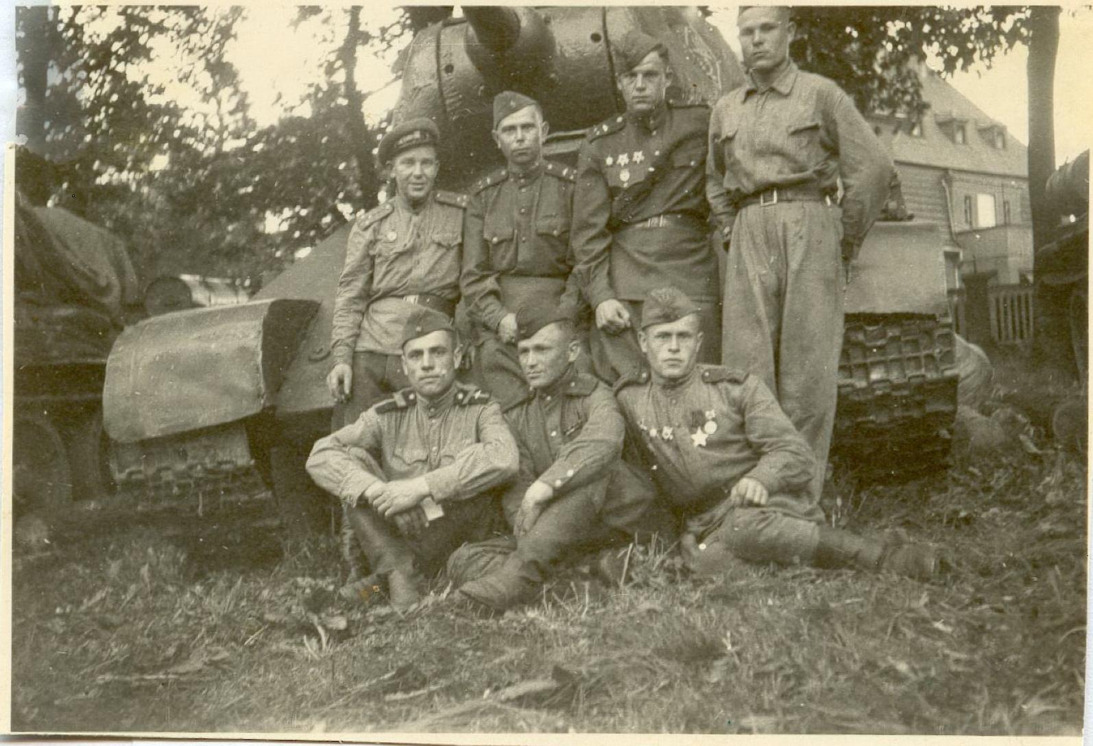 Экипаж танка