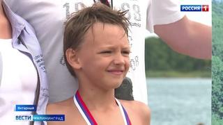 Мальчик из Светлогорска переплыл Синявинский карьер за полчаса