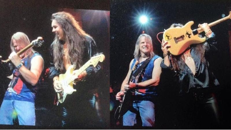 Deep Purple - Live at Japan - 2009 - Steve Yngwie Guitar Solo