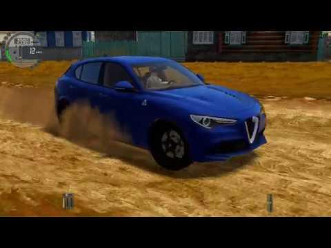 City Car Driving - Alfa Romeo Stelvio Quadrifoglio l Normal Driving | 60 FPS 1440p